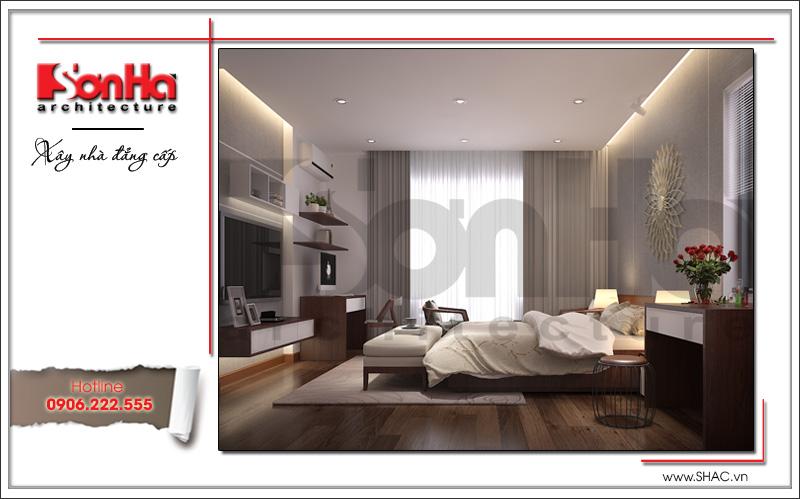 mẫu phòng ngủ đơn giản dành cho cặp vợ chồng