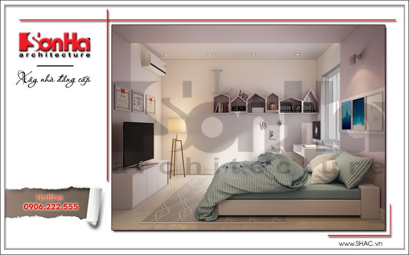mẫu phòng ngủ  mang phong cách hiện đại đẹp năm 2018