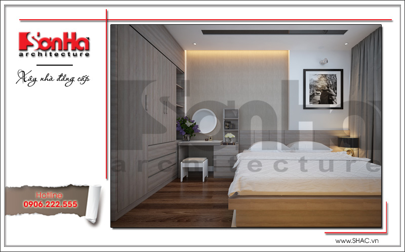 phòng ngủ mang phong cách hiện đại đẹp
