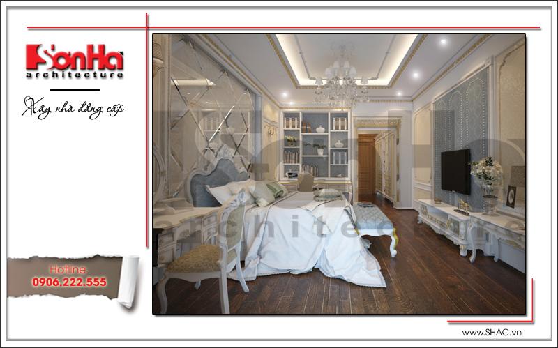 nội thất phòng ngủ biệt thự cổ điển