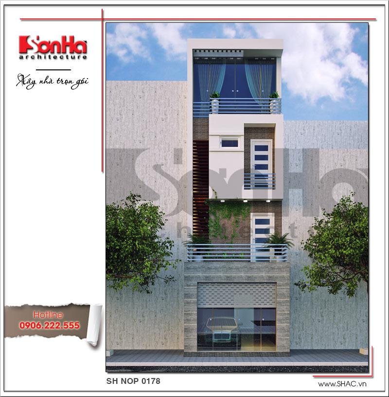 thiết kế kiến trúc nhà phố hiện đại tại tphcm