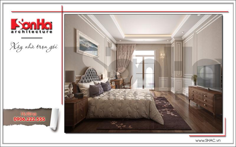 phòng ngủ cao cấp kiểu cổ điển sang trọng