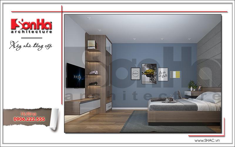 nội thất phòng ngủ đẹp với cách bố trí đơn giản