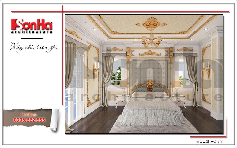 thiết kế phòng ngủ kiểu cổ điển đẹp cao cấp