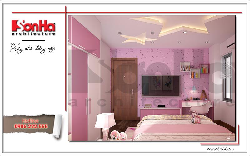mẫu phòng ngủ đẹp và cá tính cho con gái