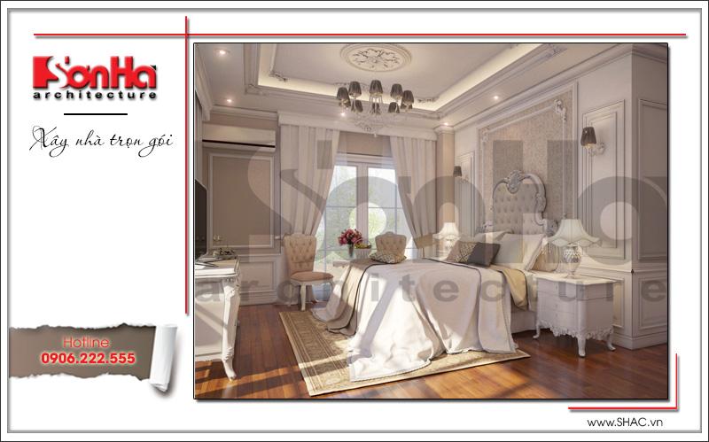 nội thất phòng ngủ dành cho vợ chồng gia chủ